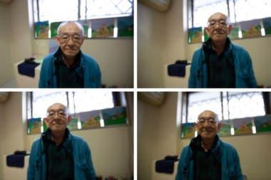 Toshio Takata tiene colgados en su celda los dibujos que hace