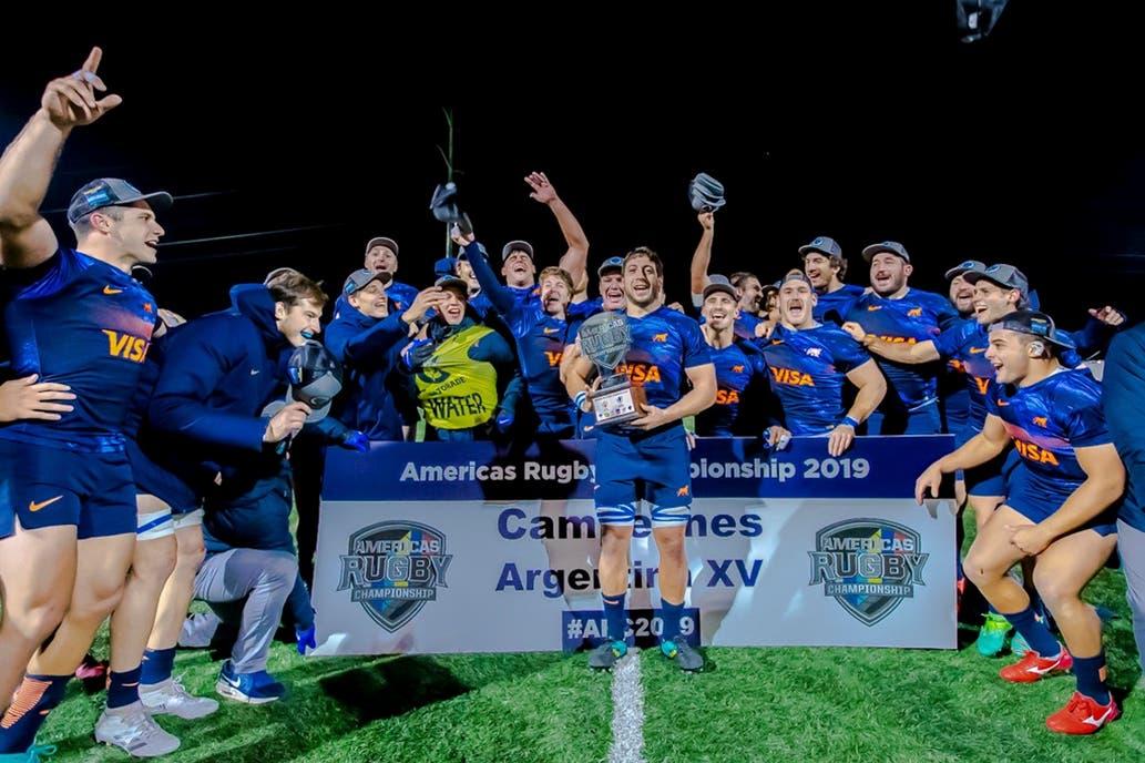 Rugby. Argentina XV volvió a festejar y se quedó con el Americas  Championship 94c769f47bd