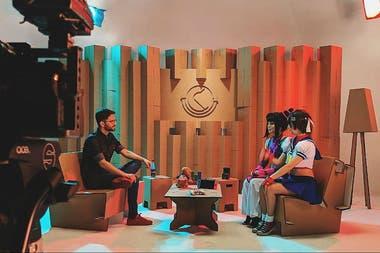 Kusco es un emprendimiento que produce muebles con cartón en un taller en La Plata