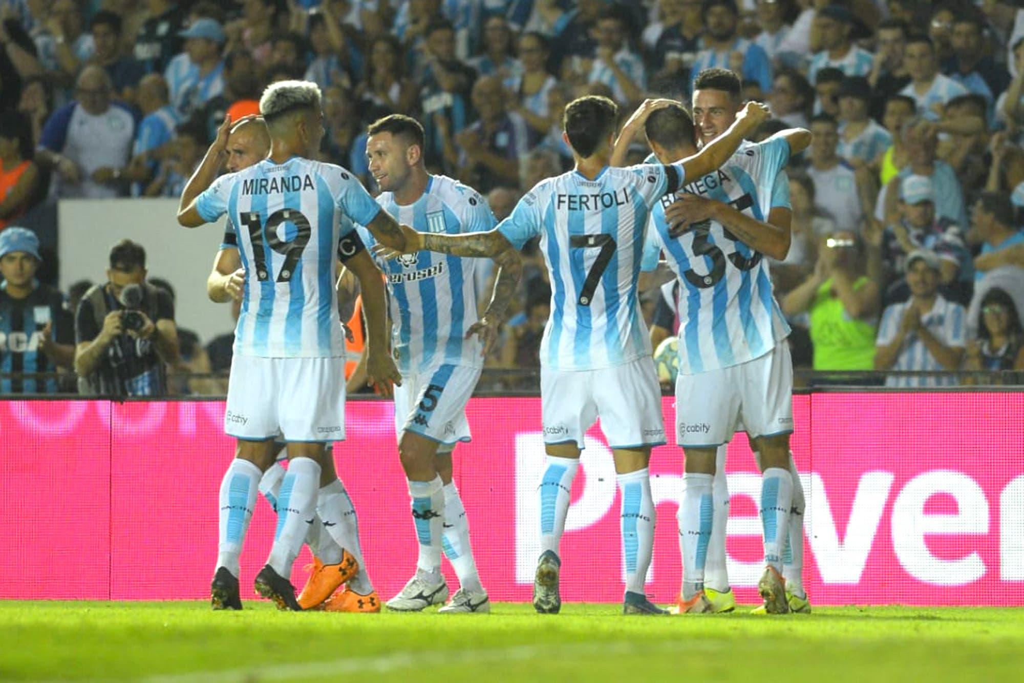 Racing-Atlético Tucumán, por la Superliga: la Academia gana en Avellaneda