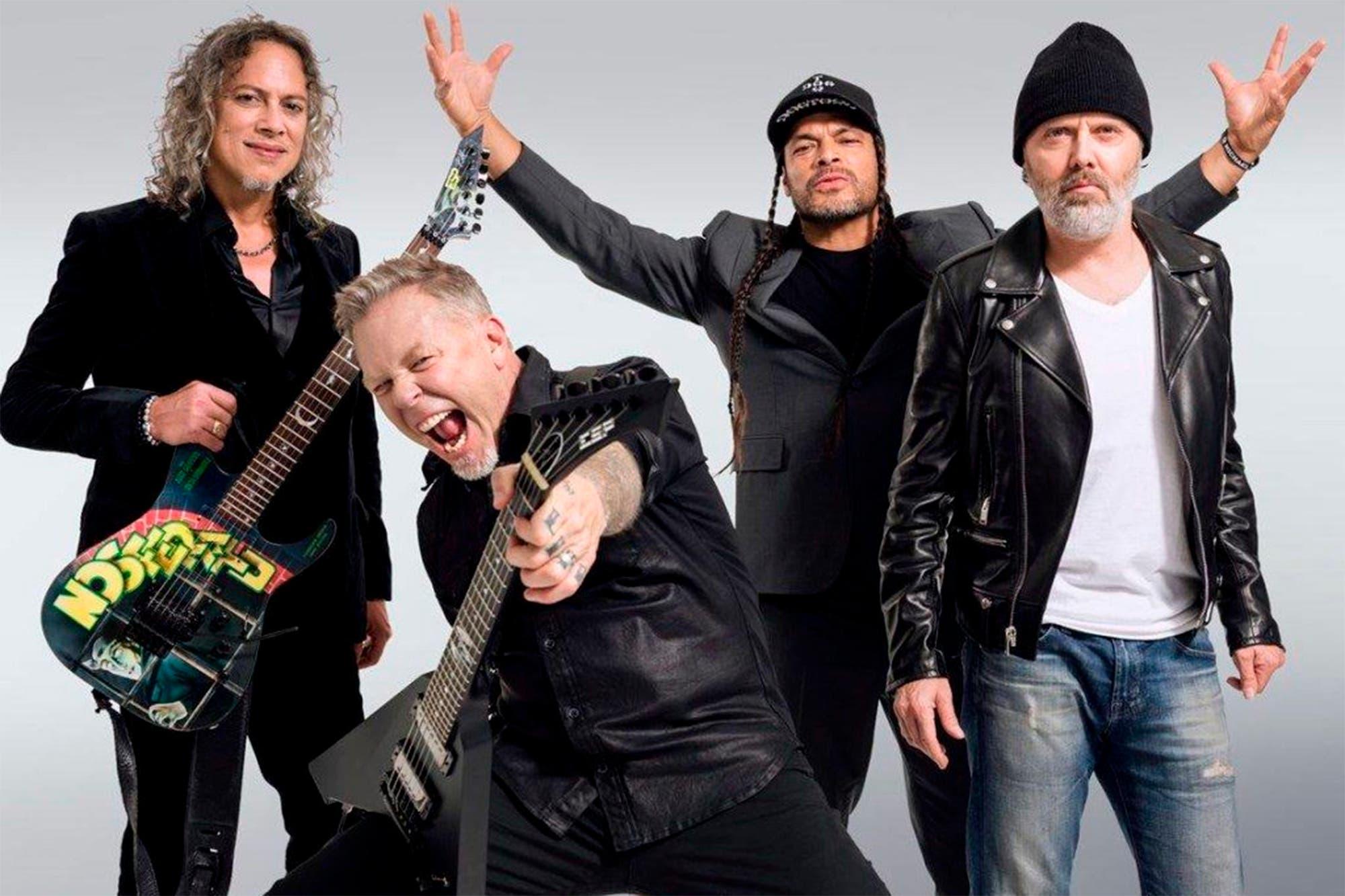 Coronavirus: Metallica transmitirá esta noche un show vía streaming