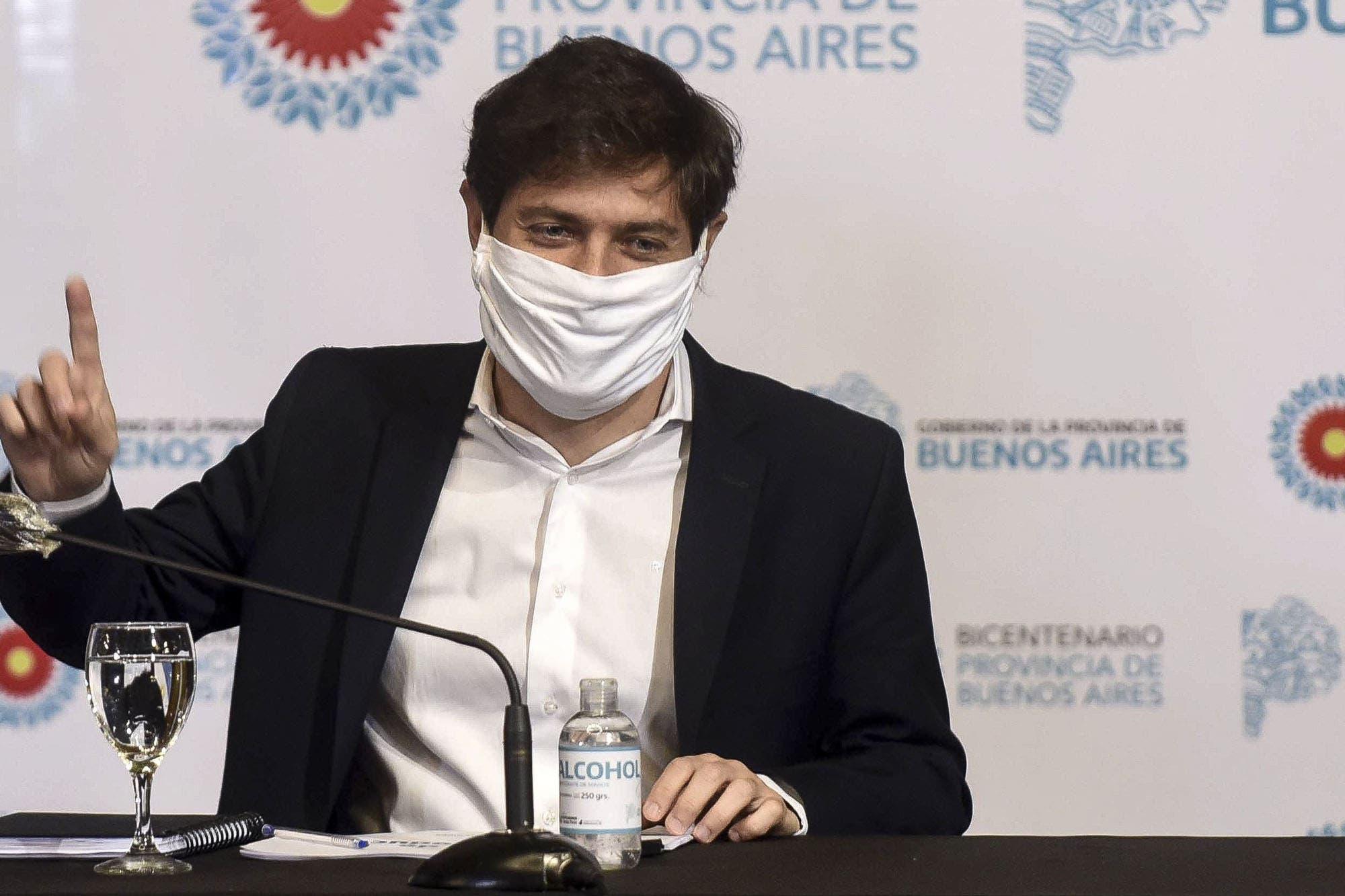 """Axel Kicillof: """"Los expertos nos están recomendando fortalecer el aislamiento"""""""