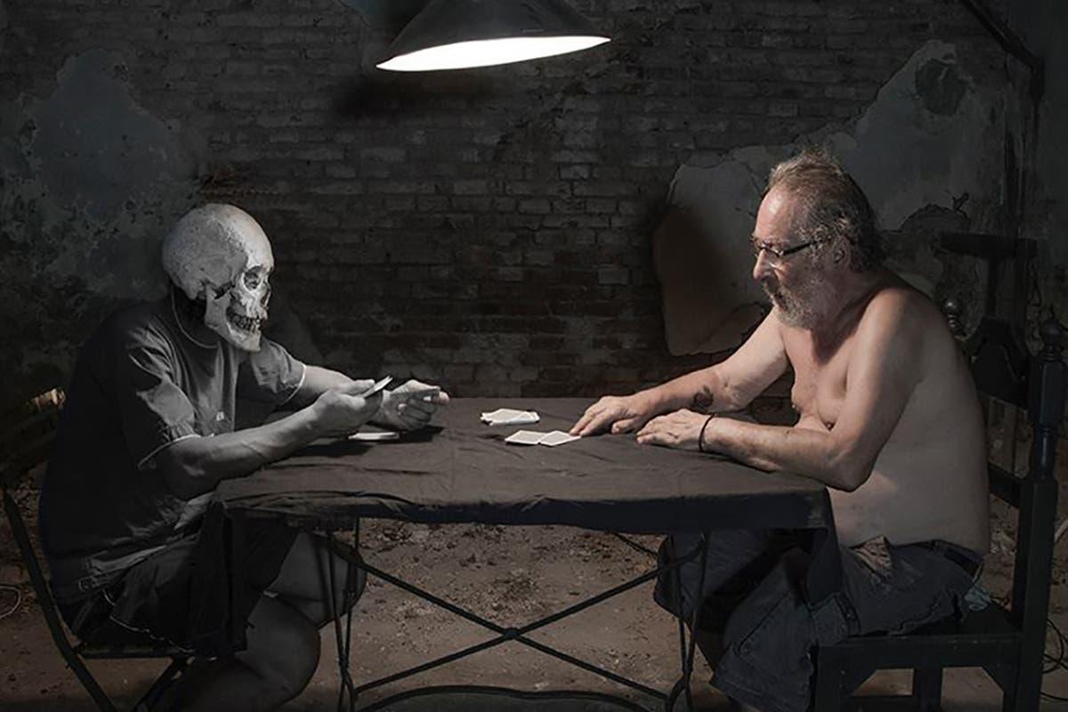 """Otro autorretrato de la serie """"Los miedos"""" de Bosch"""