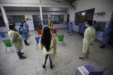 En la ciudad de Buenos Aires hay 1700 rastreadores trabajando para contener el virus