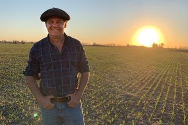 Alejandro Carafí, produce soja certificada