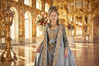 Helen Mirren en la serie Catherine The Great