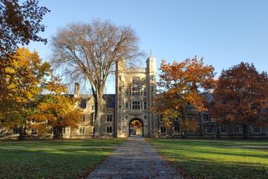 Una de las escuelas de la Universidad de Michigan, en Ann Arbor