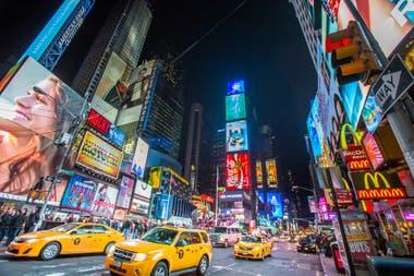 Times Square, en 2007