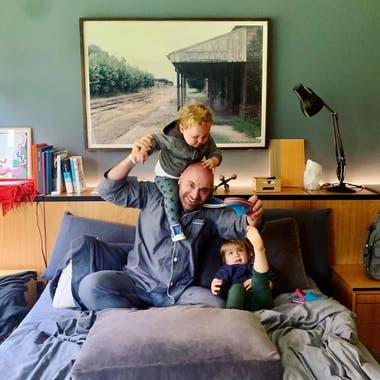 """El chef habló del """"caos"""" de su casa ahora que es padre"""