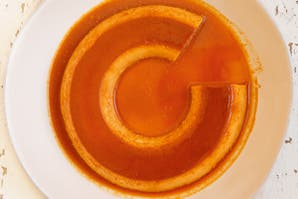 Flan de zanahorias