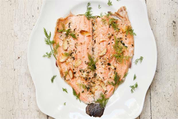 Trucha a la plancha, otra exquisita idea para comer en Semana Santa