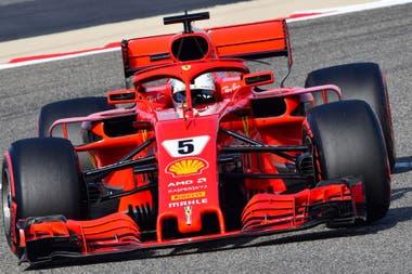 Vettel hizo una gran última vuelta y consiguió la pole
