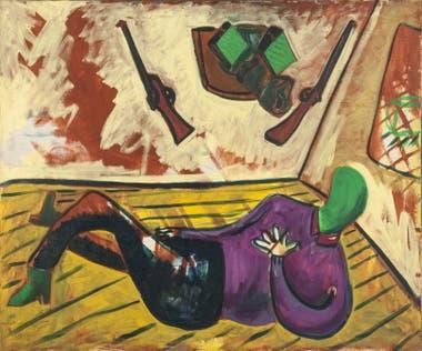 Cazador cazado, de Duilio Pierri Obra representativa de este artista clave de los años 80, que ya integra el acervo del MNBA desde 1990