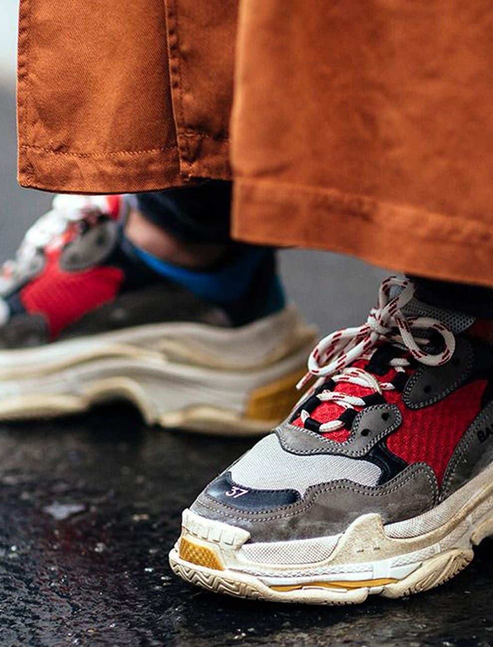 cheap for discount d09d4 a2199 Cómo las zapatillas feas fueron el gran éxito de 2018 - LA N