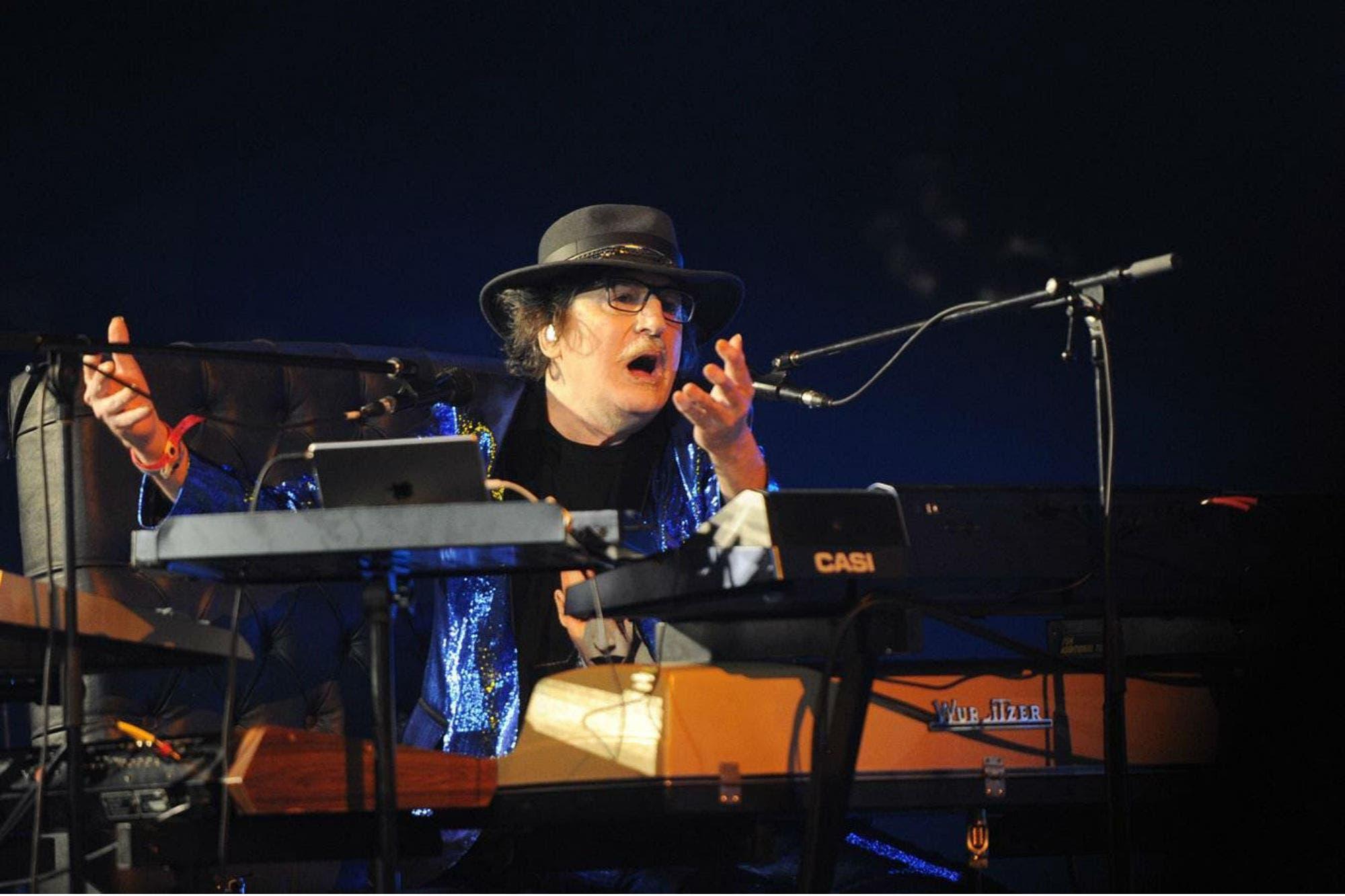 Charly García agotó las entradas del concierto que dará en Chile