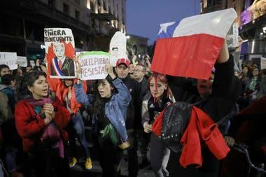 Disturbios, ayer, en el Consulado de Chile en Buenos Aires