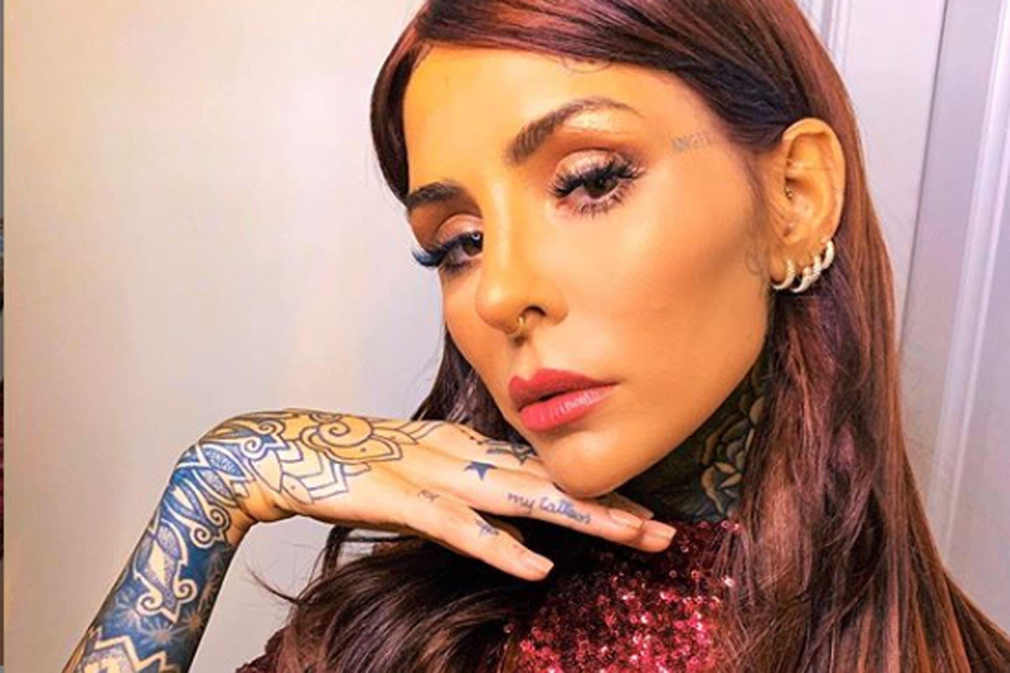 Actriz Porno Tatuada Y Rapada cambio de look: cande tinelli se animó al rapado y lo mostró
