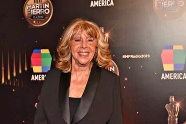 Nora Perlé tuvo su premio a la trayectoria