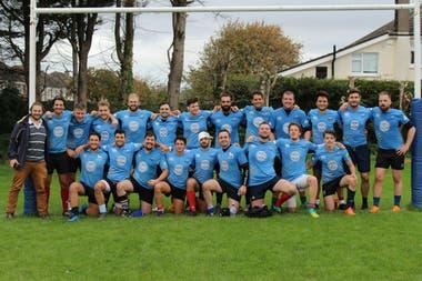 El equipo social del club irlandés, que se propone integrar a extranjeros con la comunidad local.