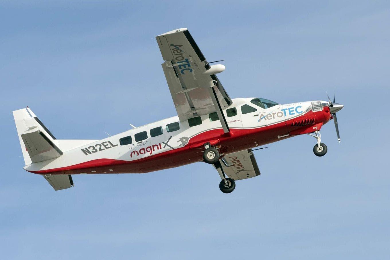 Grand Caravan: así fue el primer vuelo de una avioneta con motor eléctrico