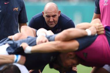 Mario Ledesma, entrenador de los Pumas, que afrontarán cuatro encuentros en Australia