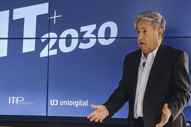 Eduardo Duhalde, en una reciente intervención pública