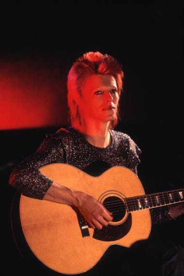 Mick Rock, David Bowie, Space Oddity, Londres, 1972