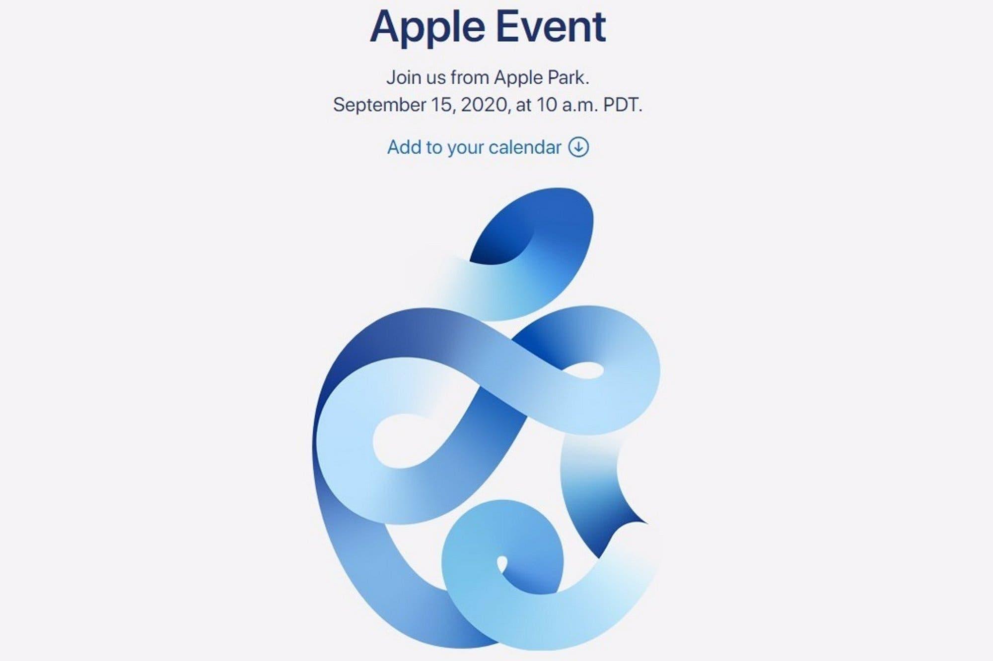 Nuevo iPhone: Apple anuncia su evento de lanzamiento para el 15 de septiembre