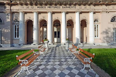 Patios y galerías del Museo Histórico Sarmiento
