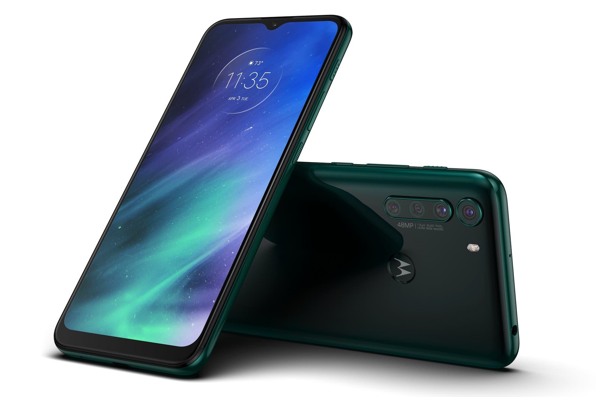 One Fusion: Motorola presentó en la Argentina su nuevo teléfono con cuatro cámaras y pantalla de 6,5 pulgadas
