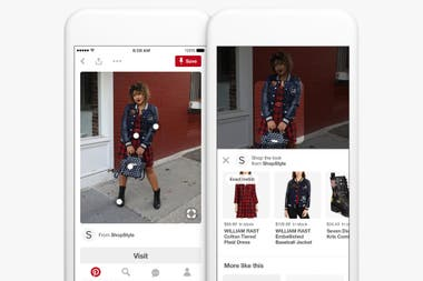 Con un 75% de sus usuarios accediendo desde dispositivos móviles, Pinterest optimizó su experiencia para celulares y ofrece la posibilidad de comprar desde su plataforma