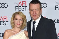 Gillian Anderson se separó de Peter Morgan, el creador de The Crown