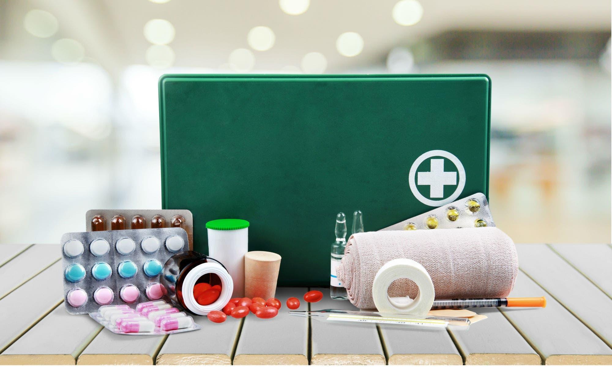 materiales que lleva un botiquin de primeros auxilios