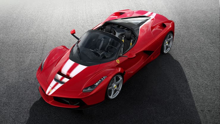 LaFerrari Aperta para Save the Children