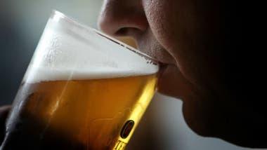 Cerveza bien fría.
