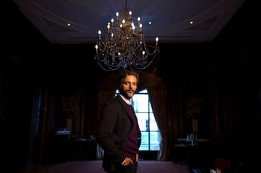 El actor dio detalles de la segunda temporada de El jardín de bronce