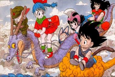 Dragon Ball en sus comienzos, con un Goku aún niño.