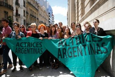 La actriz destacó la importancia del colectivo de Actrices argentinas