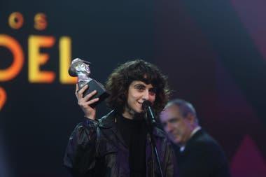 Marilina Bertoldi, la gran ganadora de la noche