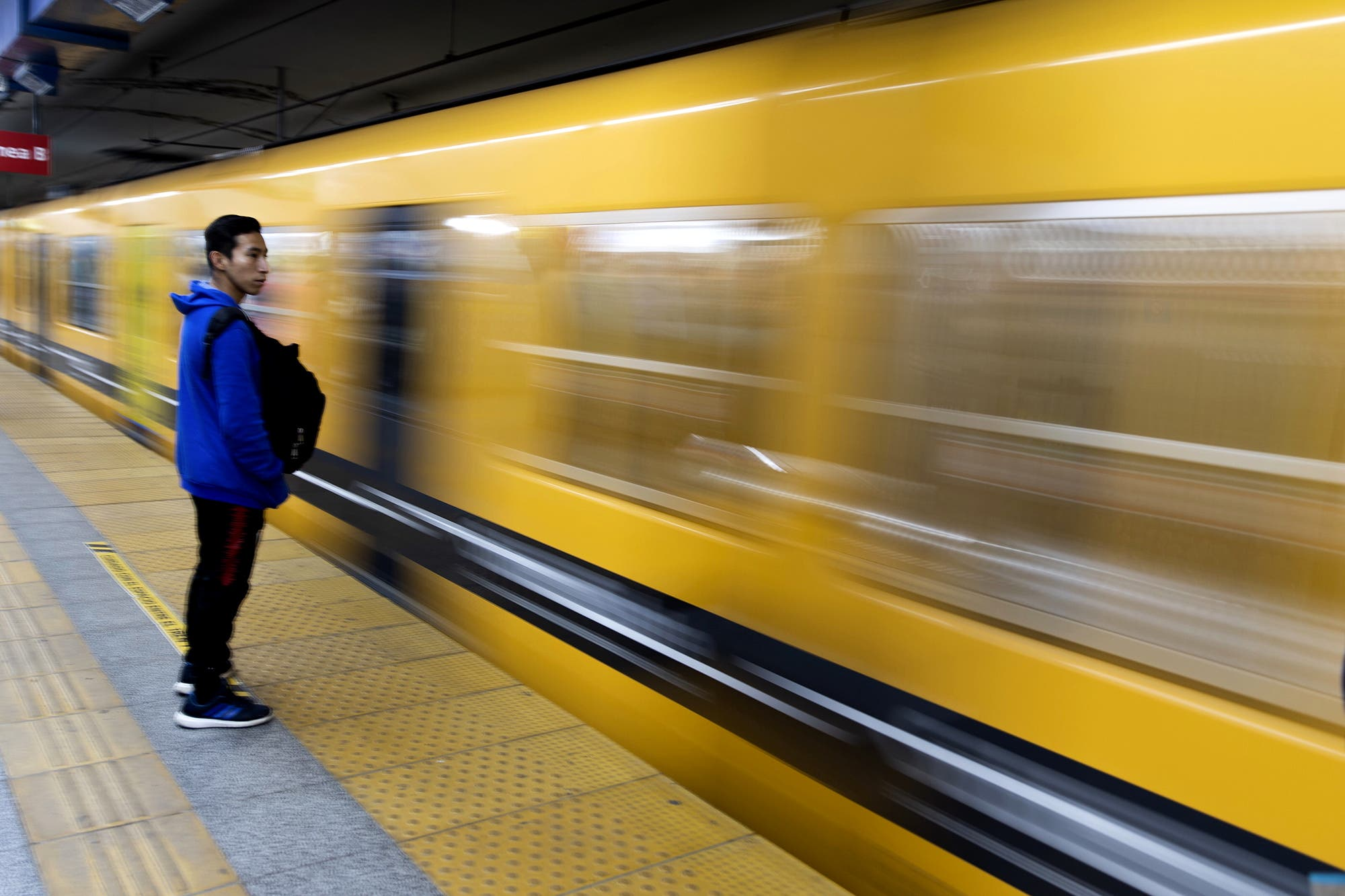 Subte: liberan molinetes en la estación Rosas de la línea B y habrá paro en la E