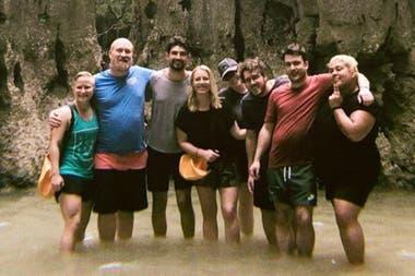 Cate Huston y sus colaboradores se reunieron en Tailandia en uno de sus encuentros programados