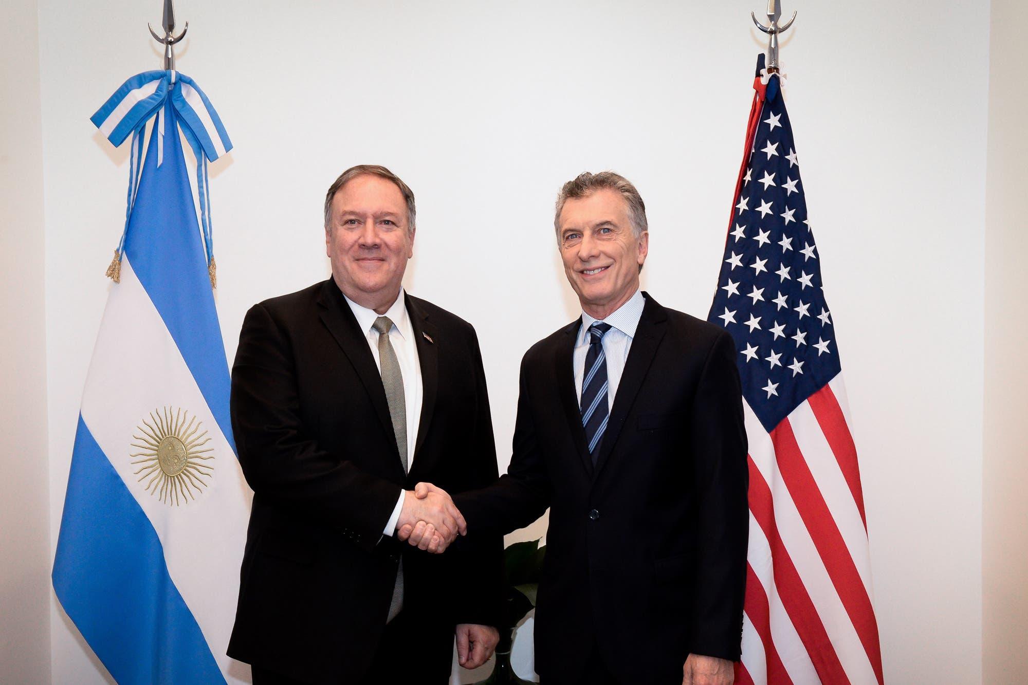Pompeo se reunió con Macri y le dio un fuerte respaldo al Gobierno