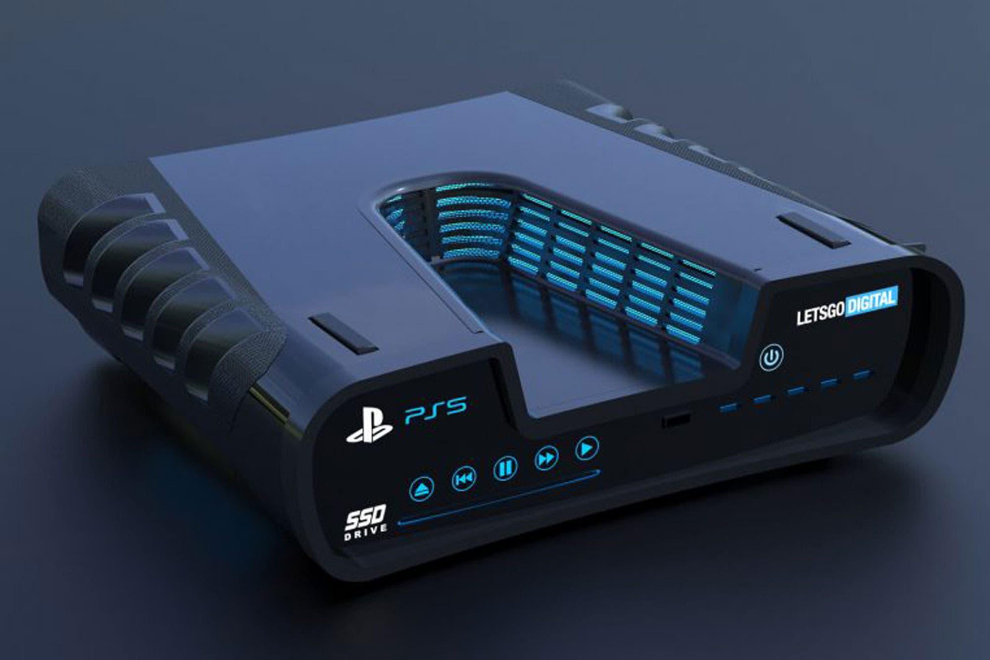 PlayStation 5: una patente revela el posible nuevo diseño de la consola de Sony