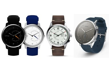 Varios relojes híbridos: Withings Move, Fossil Q Activist, Misfit Command