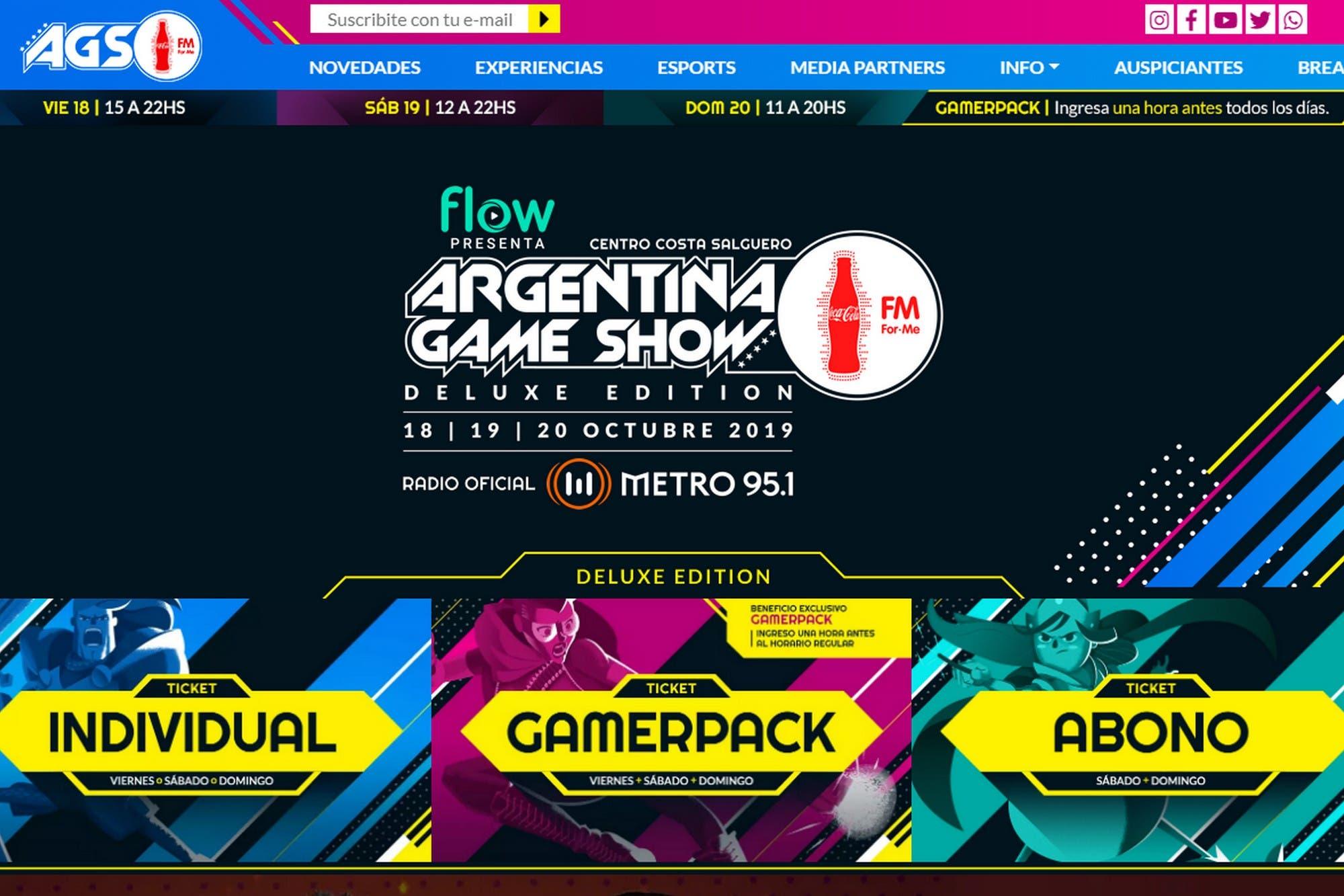 750 mil pesos en premios: así será el Argentina Game Show con torneos de Counter Strike y Call of Duty
