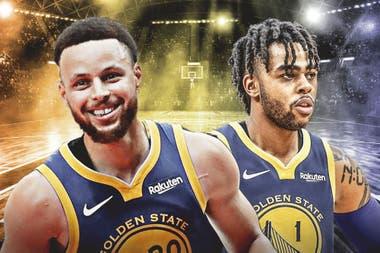 Curry y D´Angelo Russell, la apuesta de Warriors
