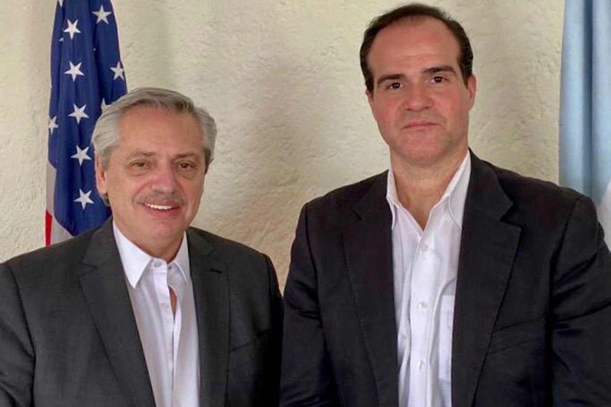 Alberto Fernández dialogó con el principal asesor de Trump para América latina