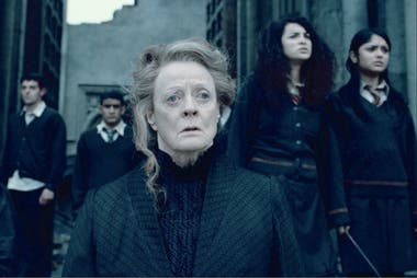 Maggie Smith, una leyenda de la actuación que no piensa jubilarse jamás. Maggie Smith interpretó a Minerva McGonagall en la serie de films de Harry Potter