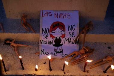 Protestas en México por el asesinato de Fátima