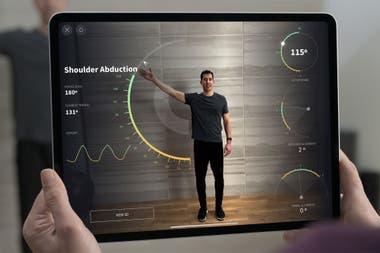 La cámara doble está acompañada por un sistema láser LiDAR para potenciar las prestaciones de realidad aumentada de la nueva iPad Pro